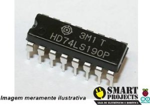Circuito Integrado HD74LS190P