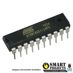 Microcontrolador AT89C4051-24PU