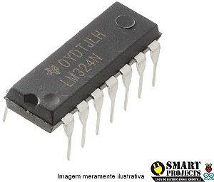Circuito integrado LM324N amplificador operacional