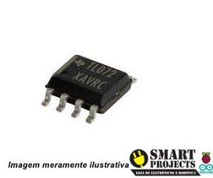 Circuito integrado TL072 CDT SMD