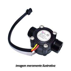 Sensor de Fluxo/Vazão de Água YF-S201 1/2 1-30L/Min