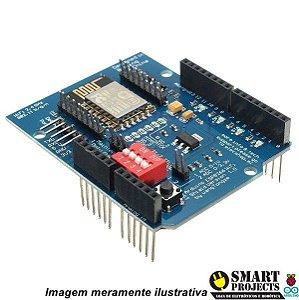Shield WiFi ESP8266 ESP12 para Arduino UNO MEGA