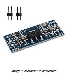 Módulo Regulador de Tensão AMS1117 5v p/ 3.3v Step Down
