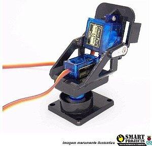 Fpv Suporte Camera Pan Tilt Sem Servos Arduino Gimbal Gng