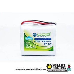 Bateria recarregável BAP energy 3.6V 1000mAh