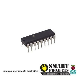 Circuito integrado CD4049 porta NOT