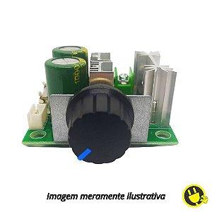 Módulo Controlador de Velocidade PWM 12-40V 10A com Potenciômetro