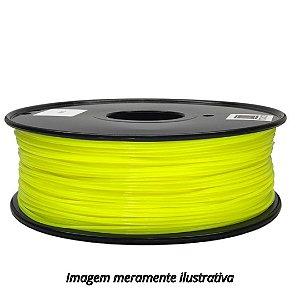 FIlamento PLA 1,75mm 1kg Amarelo para impressora 3D