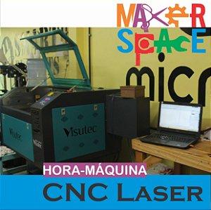Hora-Máquina CNC Corte a Laser - 1 hora de uso