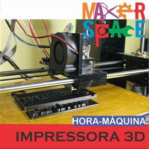 Hora-Máquina Impressora 3D Anet A6 1 hora de uso