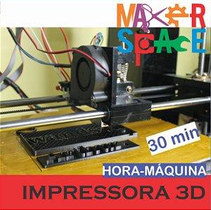Hora-Máquina Impressora 3D Anet A6  30 minutos de uso