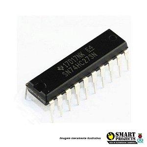 Circuito integrado 74HC273 - Flip-Flop D