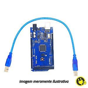 Arduino Mega R3 Ch340 + cabo USB