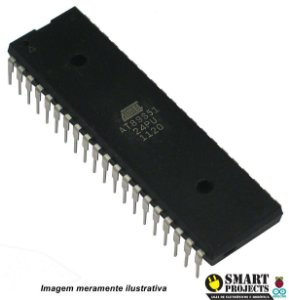 Microcontrolador de 8 Bits com Flash de 4kB - AT89S51-24PU