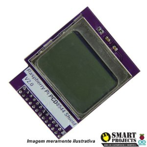 "Modulo LCD mini 1.6"" com Blacklight para Raspberry PI"