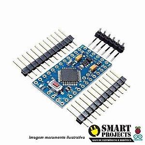 Arduino Pro Mini Compativel Atmega328 8mhz 3,3v Pinos