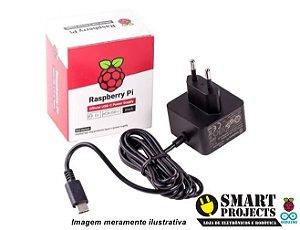 Fonte Official USB Para Raspberry PI 4