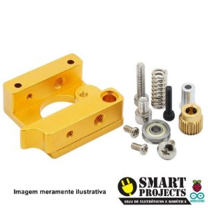 Kit Extrusora Para Impressoras 3d Printer 1.75mm Reprap Mk8