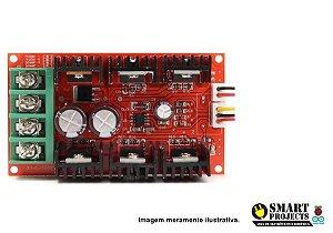 Controlador PWM 40a 50v 2000w Regulador Velocidade com Potenciômetro