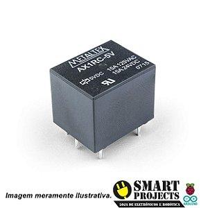 Relé simples 5V 15A Metaltex