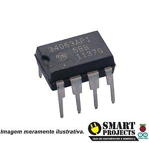 Circuito Integrado MC34063A Controlador para Conversores Chaveados