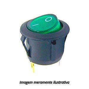 Chave Gangorra KCD1-5-101N Verde com Neon
