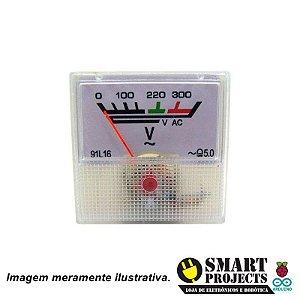Voltímetro Analógico AC 300V