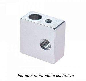 Bloco Aquecedor MK8 para Impressora 3D