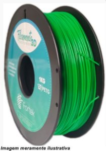 Filamento PET-G 1,75mm 1KG Verde