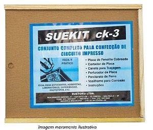 Suekit Ck-3 Laboratório Confecção Placas Circuito Impresso