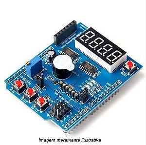 Shield Arduino Multifunções nível intermediário