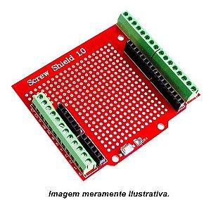 Screw Shield de Expansão p/ Arduino com terminal