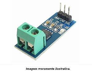 Sensor de Corrente AC / DC ACS712 20A