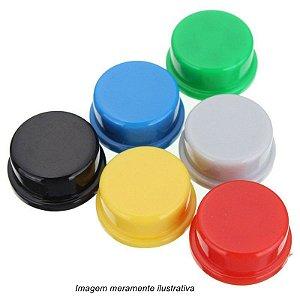 Capas Coloridas P/ Push Button /Chave Táctil 12x12x7,3mm
