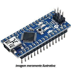 Arduino Nano V3 CH340 (Sem Cabo USB)