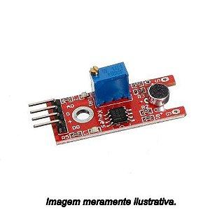 Módulo Sensor de Som Microfone KY-038