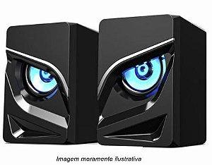 Caixa De Som Havit Hv-sk708 Gamenote Rgb Usb 2.0 Preto