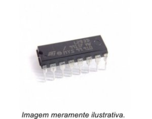 Circuito Integrado L293D Driver Controlador de Motor