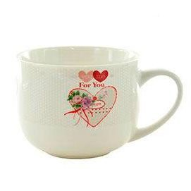Caneca de Porcelana KOOK Estampado You Me For You With 470 ml