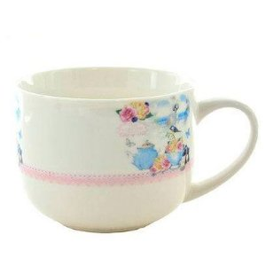 Caneca de Porcelana Kook Estampado Europe A LifeTime Rural Scenergy 470 ml