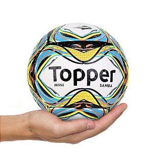 Mini Bola de Futebol Topper Samba Velocity 2020