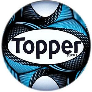 Bola Topper Futebol de Campo Slick II - Cor 35 Azul