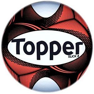 Bola Topper Futebol de Campo Slick II - Cor 14 Vermelha