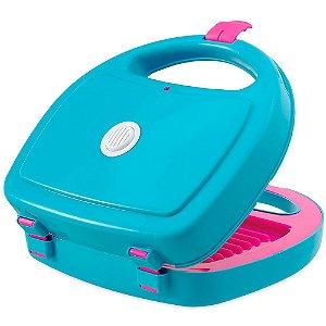Sanduicheira Le Chef Infantil que Emite Som Usual Plastic Brinquedos - Ref. 364