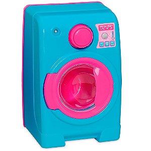 Máquina de Lavar Home Love com Painel Interativo Usual Plastic Brinquedos - Ref. 360