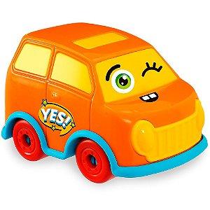 Carrinho de Brinquedo Car Toons - Van Usual Plastic Brinquedos - Ref. 355