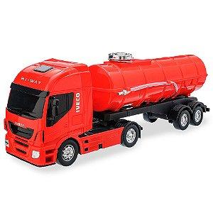 Caminhão Tanque Iveco Hi-way Usual Plastic Brinquedos - Ref. 340