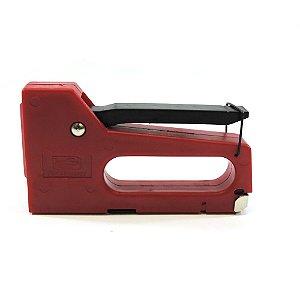 Grampeador Manual para Tapeceiro com Corpo de Plástico Westpress para Grampos Tipo 53 de 4 - 8 mm
