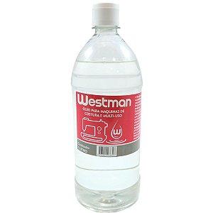 Óleo Mineral Westman para Máquinas de Costura e Multiuso de 1 Litro
