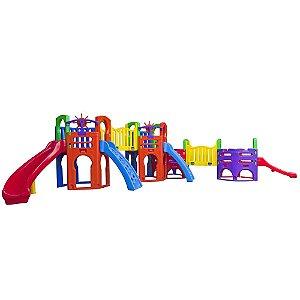 Playground Ômega Freso Brinquedos 430 × 800 × 185 cm - Ref. 27187